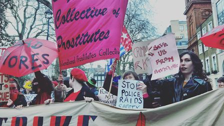 The English Collective of Prostitutes says Whitehall must step in to provide financial relief. Pictu