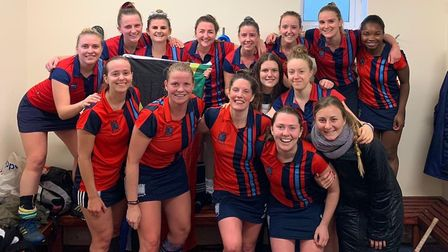Hampstead & Westminster women's seconds have been confirmed as South League champions