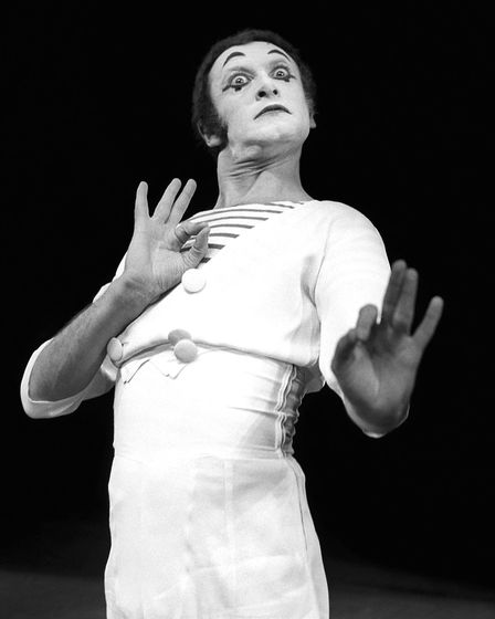 File image, dated 29-11-1962. Veteran French mime artist Marcel Marceau, who has died, aged 84.