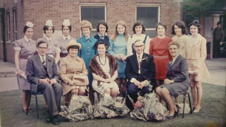 Mildmay Hospital staff in the early years of the hospital when it became part of the National Health