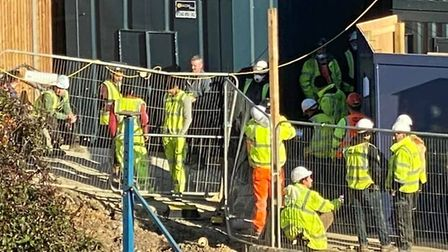 """Catalyst Housing said it employed """"experienced contractors"""" responsible for site safety. Picture: Jo"""