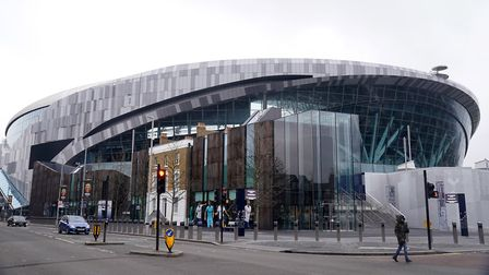 A general view of the Tottenham Hotspur Stadium