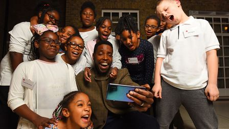 Members of youth charity Hackney Quest celebrated the group's 30th anniversary at Hackney Town Hall