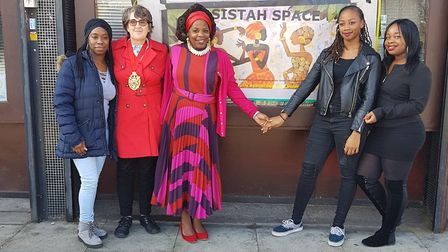 Sistah space was founded after the brutal murder of Valerie Forde and her baby daughter after Valeri