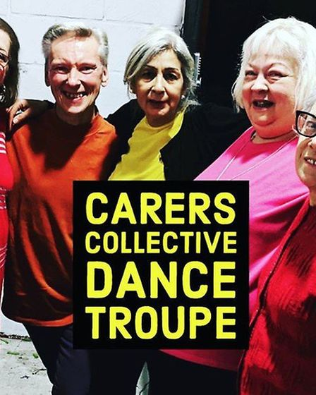 The Carers Collective dance troupe were exposed to offensive and racist imagery and language when t