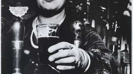 Barmaid at The Crooked Billet by Bill Brandt courtesy of James Hyman Gallery