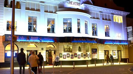 The Marina Theatre in Lowestoft. Picture by Mick Howes