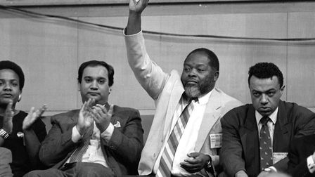 MPs (L-R) Diane Abbott, Keith Vaz, Bernie Grant and Paul Boateng. Picture: PA Archives