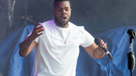 MNEK previously performed at the Sundown Festival. Picture: LEE BLANCHFLOWER