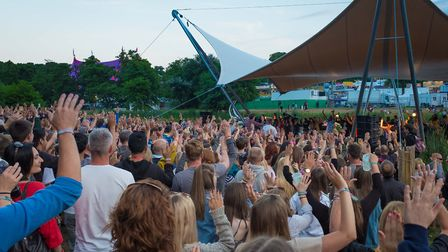 The crowds gathered at the Latitude Festival last year. Picture: PAUL JOHN BAYFIELD