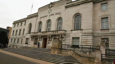 Hackney Town Hall. Picture: Ken Mears
