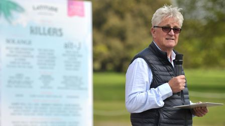 Managing director of Festival Republic, and organiser of the Latitude Festival, Melvin Benn at the l