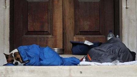 Mr Meek said all rough sleepers had been housed, but some were in overcrowded conditions. Picture: Y