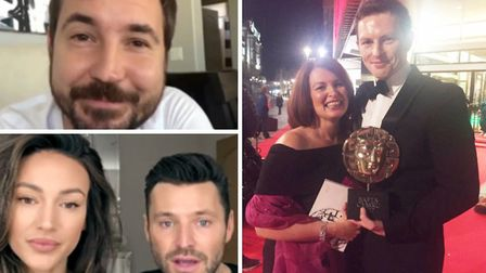 Jack Parry-Jones roped in famous friends like Michelle Keegan, Mark Wright and Martin Compston to pa