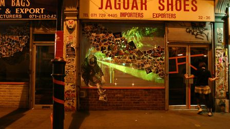 Launched in 2001, Dream Bags Jaguar Shoes is the collectives' flagship venue. Its name derives from