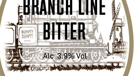 Branch Line Bitter, which will be one of the beers at the festival. Picture: HUMPTY DUMPTY BREWERY