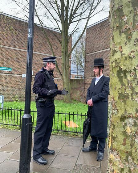 The Orthodox Jewish voluntary neighbourhood watch group Shomrim has been working with police to enco