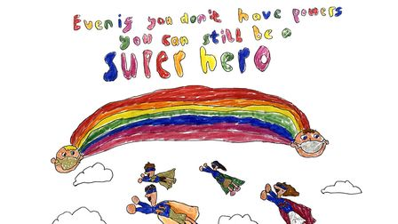 Artwork wanted! The Royal Free Hospital wants children to send in their supportive illustrations. Pi