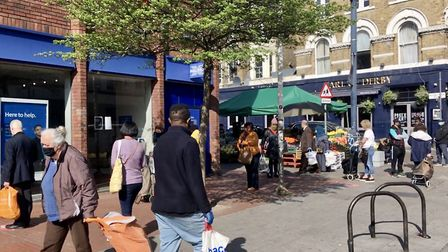 Camden Council is making changes to Kilburn High Road after concerns over congestion were raised. Pi