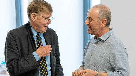 Primrose Hill neighbours Alan Bennett and Nicholas Hytner are once again collaborating this time on