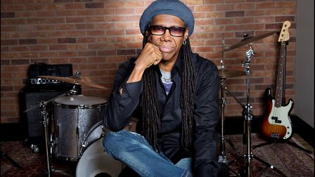 Nile Rodgers at Abbey Road Studios (Picture: Jill Furmanovsky)