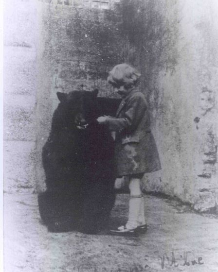 Winnie the bear and Christopher Robin Milne