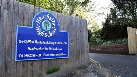 Heathside School's building in West Heath Road, which it will vacate later this year, following a pl