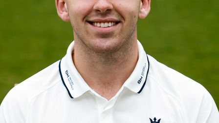 Middlesex's Tom Lace during the media day at Lord's Cricket Ground