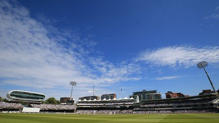 A viewof Lord's Cricket Ground