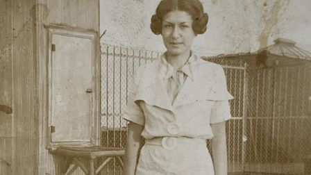 Edith worked at the American Office of War Information. Picture: Ella Saltmarshe