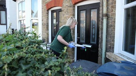 LILS delivery drivers are avoiding unnecessary contact with customers amid the coronavirus pandemic.