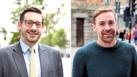 Haringey councillors Cllr Nick da Costa (Alexandra) and Cllr Luke Cawley-Harrison (Crouch End). Pict