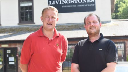 Paul Emery and Jack Fountain have taken over Livingstone's Freehouse Kessingland. Picture: Sonya Dun