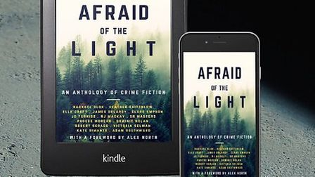Crime Anthology Afraid of The Light is available as a paperback or Ebook