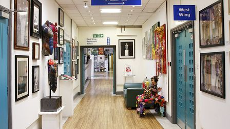 The Arts Project, an established gallery space at St Pancras Hospital supported by the Central and N