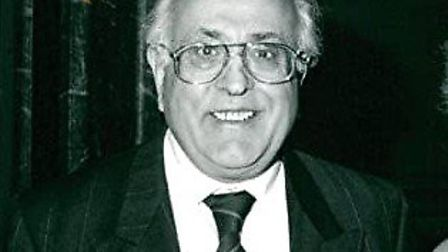 Sir Hugh Rossi, photographed in 1993. Picture: Desmond O�Neill Features