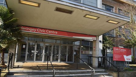 Haringey Civic Centre. Picture: Ken Mears