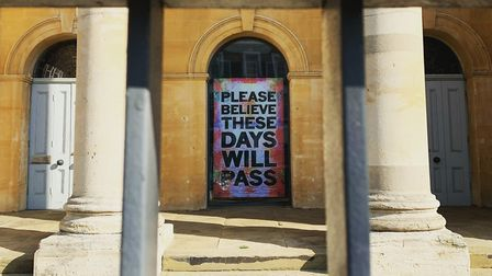 The Zabludowicz Collection in Chalk Farm, closed during the coronavirus outbreak. Picture: André Lan