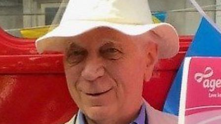David Mitchell, 89, helped set up LGBT+ charity Open Doors London. Picture: Age UK Camden