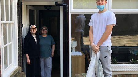 St Dorothy's Convent is just one of Nicolo's regular drop-offs. Picture: Allegra Di Borgoricco