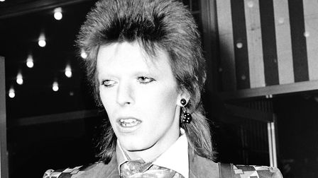 David Bowie sang No More Heroes. Picture: PA Archive