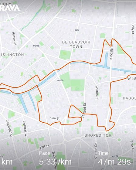 A Hoxton cat. Picture: Strava