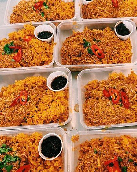 Zoe's Ghana kitchen is sending modern Ghanaian and West African meals to people in Hackney and Bow.