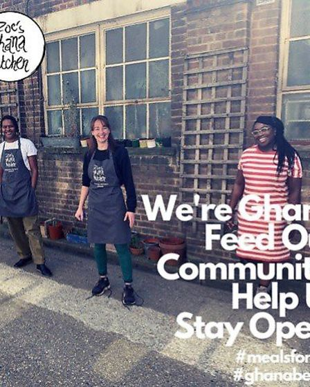 In 2010 during Hackney Wicked Arts Festival Zoe started her catering business and it went on to be t