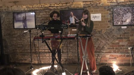 Bad Honey at Sofar Sounds, Signature Brew Taproom & Venue, Haggerston. Picture: Jay Burgess