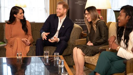 Esther meets The Duke and Duchess of Sussex