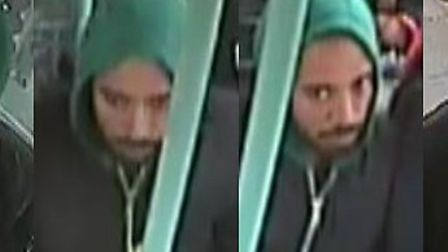 Do you know this man? He is wanted over a sexual assault on the W15 bus.