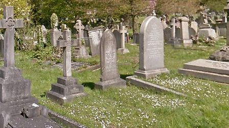 Hughes attacke his victim in Hampstead Cemetery, in Fortune Green Road