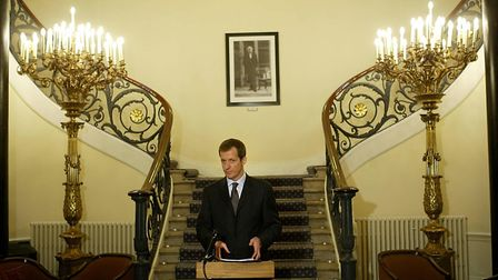 Alastair Campbell during his time as Downing Street communications chief. Picture: PA