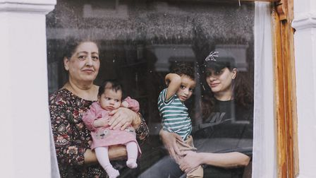 Romana, baby Leyla, Isaac and Ayten have lived on the street since 1977 and are originally from Kash